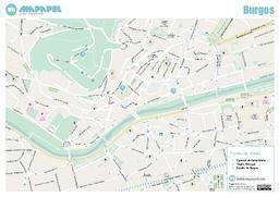 Mapa De Burgos Ciudad.Mapa De Burgos Para Imprimir