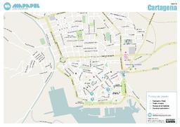 Mapa De Cartagena Murcia.Mapa De Cartagena Para Imprimir
