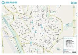 Mapa De Leon Para Imprimir