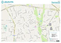 Mapa De Terrassa Para Imprimir